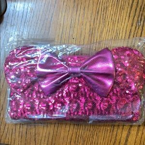 Pink Minnie Mouse Sequin wallet by Loungefly - nwt